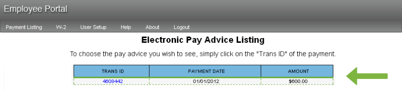 paperless payroll estub
