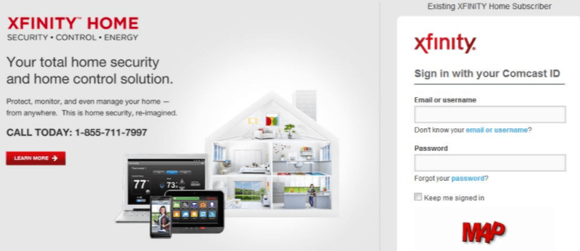 New Home Security Companies: Xfinity Home Security Portal Login